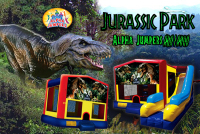 Dinosaurs bounce house rental in colorado springs, Jurasic Park jumpers for rent