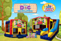 Doc Mcstuffins bounce house rental in colorado springs, Doc Mcstuffins jumpers for rent