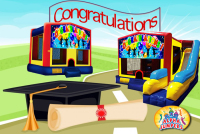 Graduation bounce house rental in colorado springs, Graduation jumpers for rent