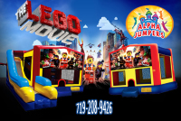Lego the movie bounce house rental in colorado springs, Lego the movie jumpers for rent