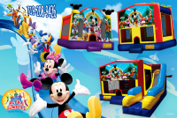 minnie mouse bounce house rental in colorado springs, mickey mouse jumpers for rent