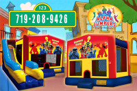 Sesame Street  bounce house rental in colorado springs, Sesame Street  jumpers for rent