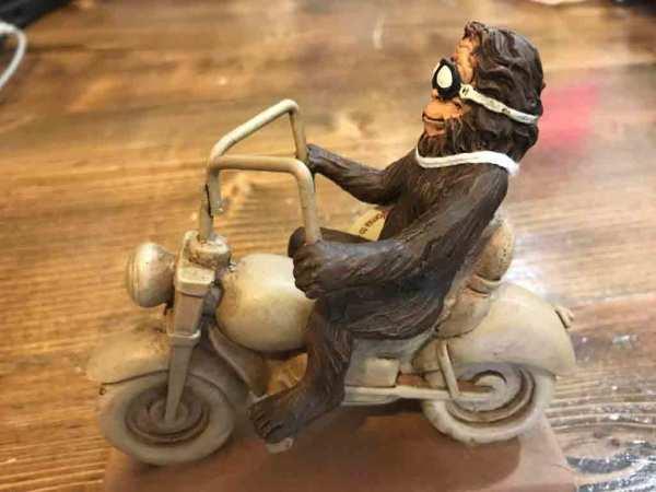 $11.99  Bigfoot Biker figurine