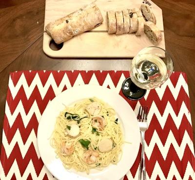 How To: Shrimp & Scallop Scampi with Linguine