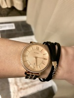 Fossil Watch and Bracelet Combo