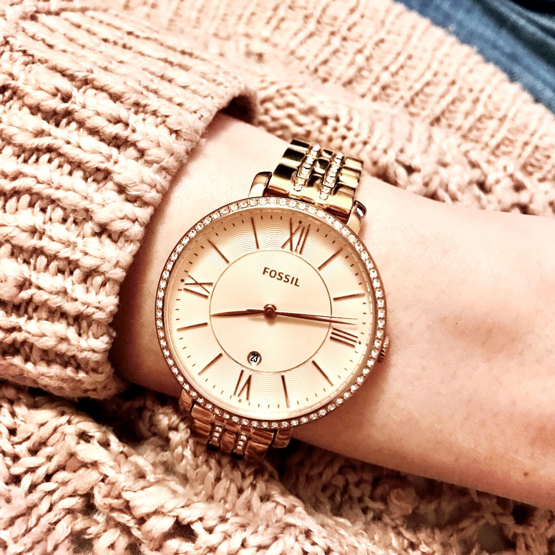 Rose Gold on Rose Gold
