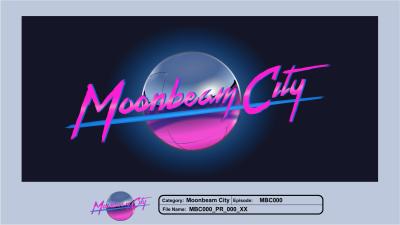 Moonbeam City Logo