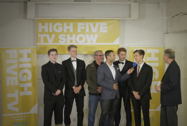 HIGH FIVE TV SHOW- BEHIND THE SCENES