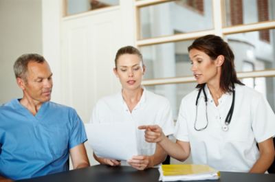 Legal Nurse Consultants Discuss a Case