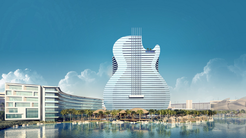 Hard Rock Hotel and Casino, Hollywood, Florida