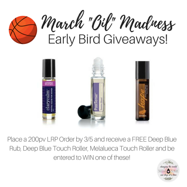 """March """"Oil"""" Madness is HERE! Team Love thy Health March Promotions"""