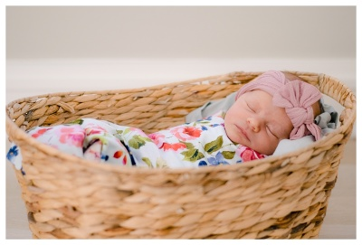 Baby Girl V- Newborn Lifestyle and Styled Session