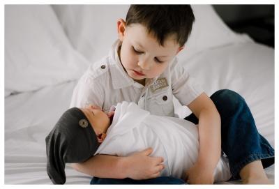 Tiny Baby M- Newborn Lifestyle & Styled Session