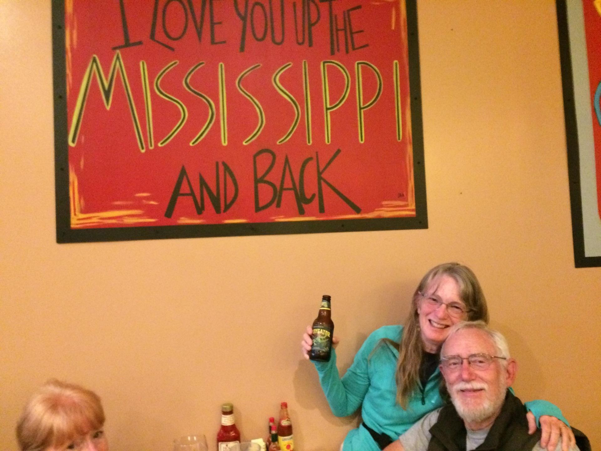 Vicksburg Part I: I Love You Up the Mississippi and Back