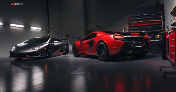 Lamborghini Huracan & McLaren 650S