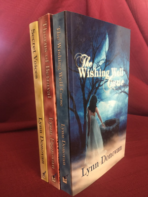 The Spirit of Destiny Series, The Wishing Well Curse, Thorns of Betrayal, Secret Voices