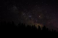 Milky Way over West Yellowstone