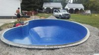 In-ground swimming pool our experts have built