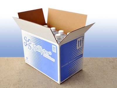 How to securely package liquids for courier delivery