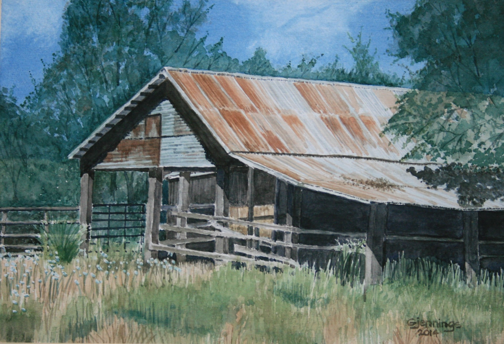 Old Texas Barn