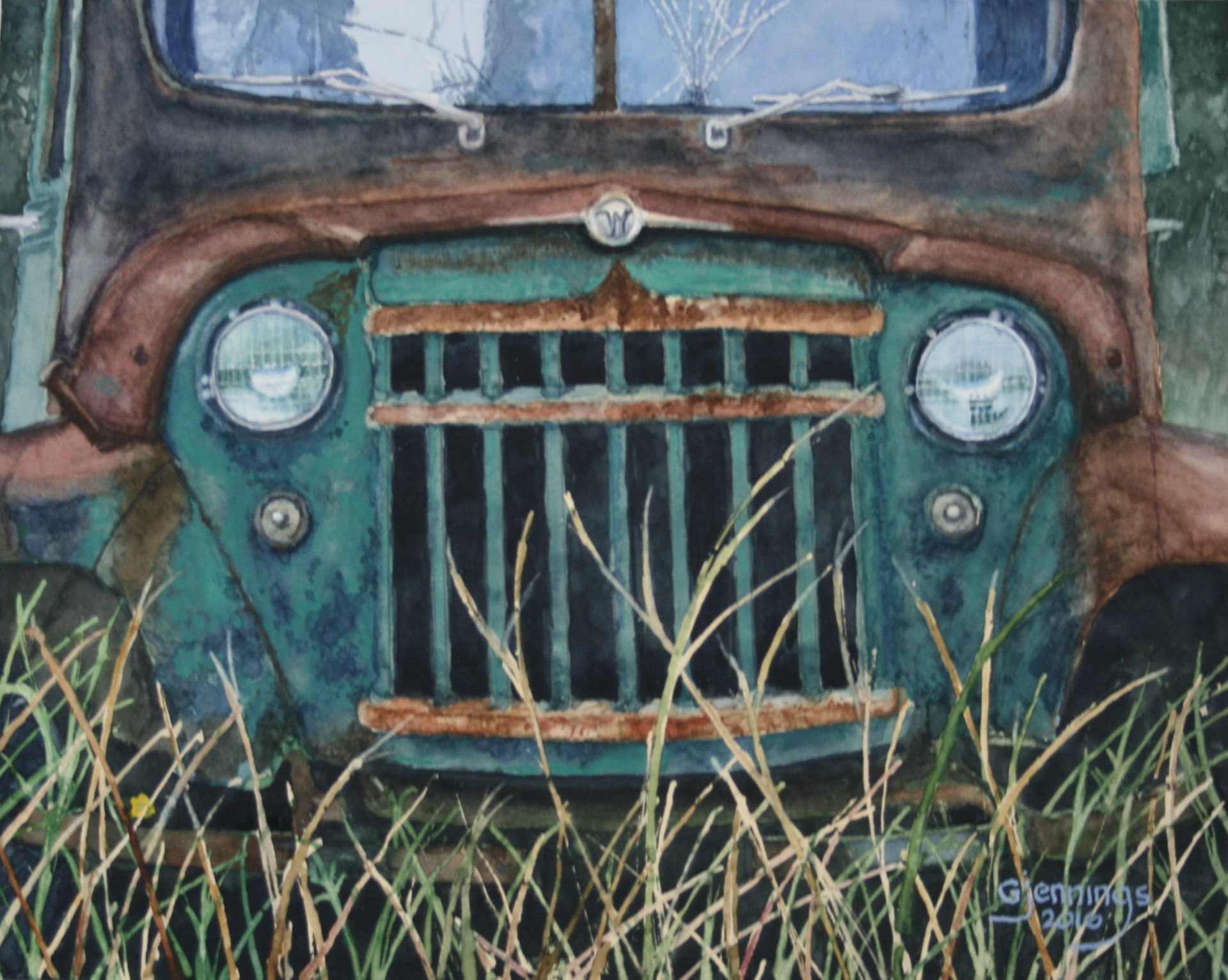Rusty Old Willys