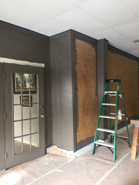 New Paint for Main St. Door