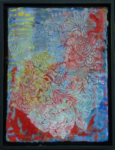 Tablecloth Framed