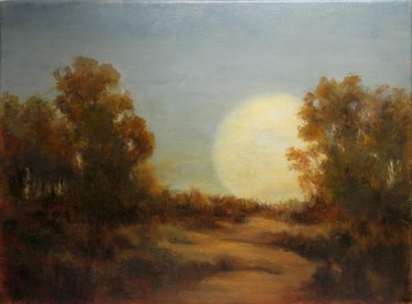 Moonrise on The Horizon