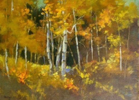 October Aspens