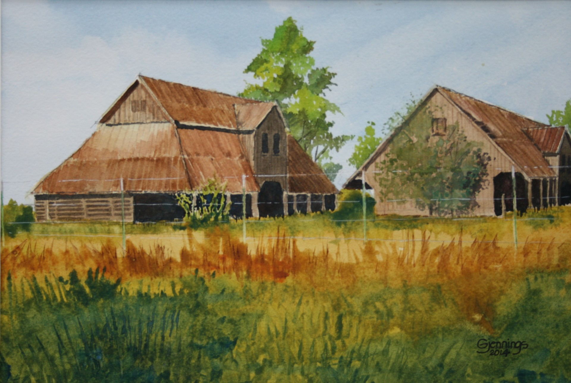 Two East Texas Barns
