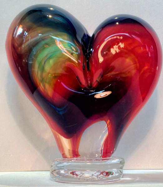 Red & Green Heart