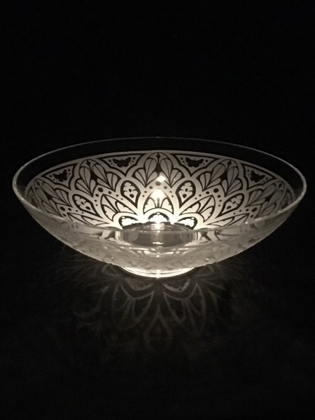 Bowl with Arabic Pattern