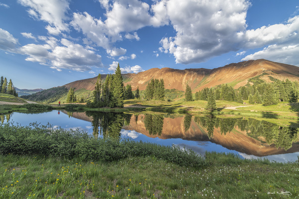 Reflections in Crested Butte