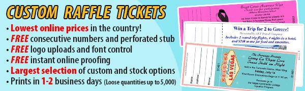 Raffle/Tickets