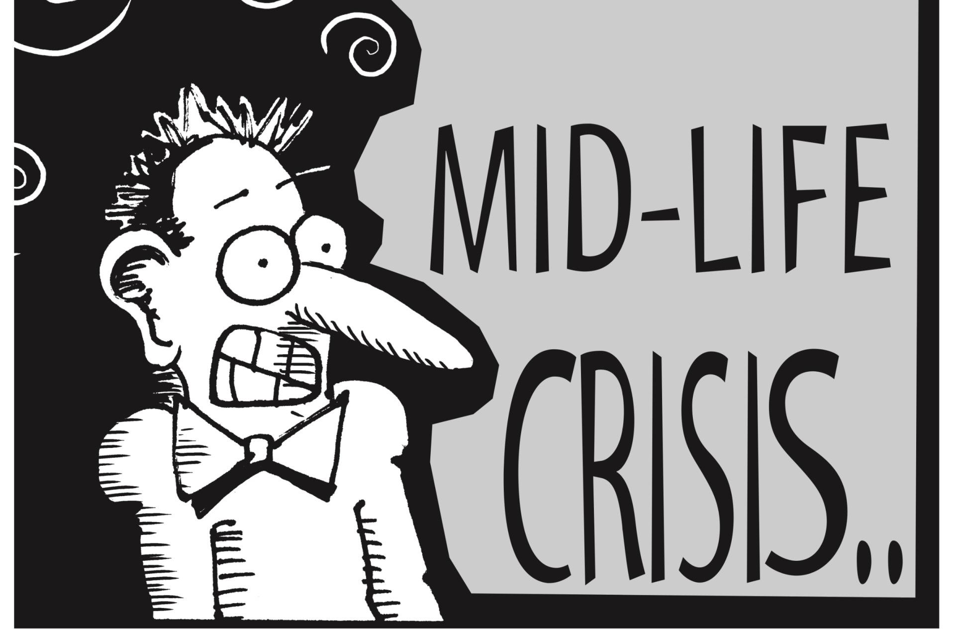 MID-LIFE CRISIS, STARK PLUG BOOK, CHAPTER 6, PAGE 61