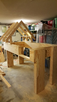 Bunk Beds with Storybook Roof
