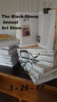 The Black Sheep Cafe Annual Art Show - March 2017