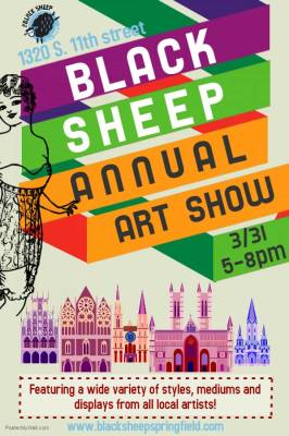 The Black Sheep Cafe Annual Art Show - March 2018