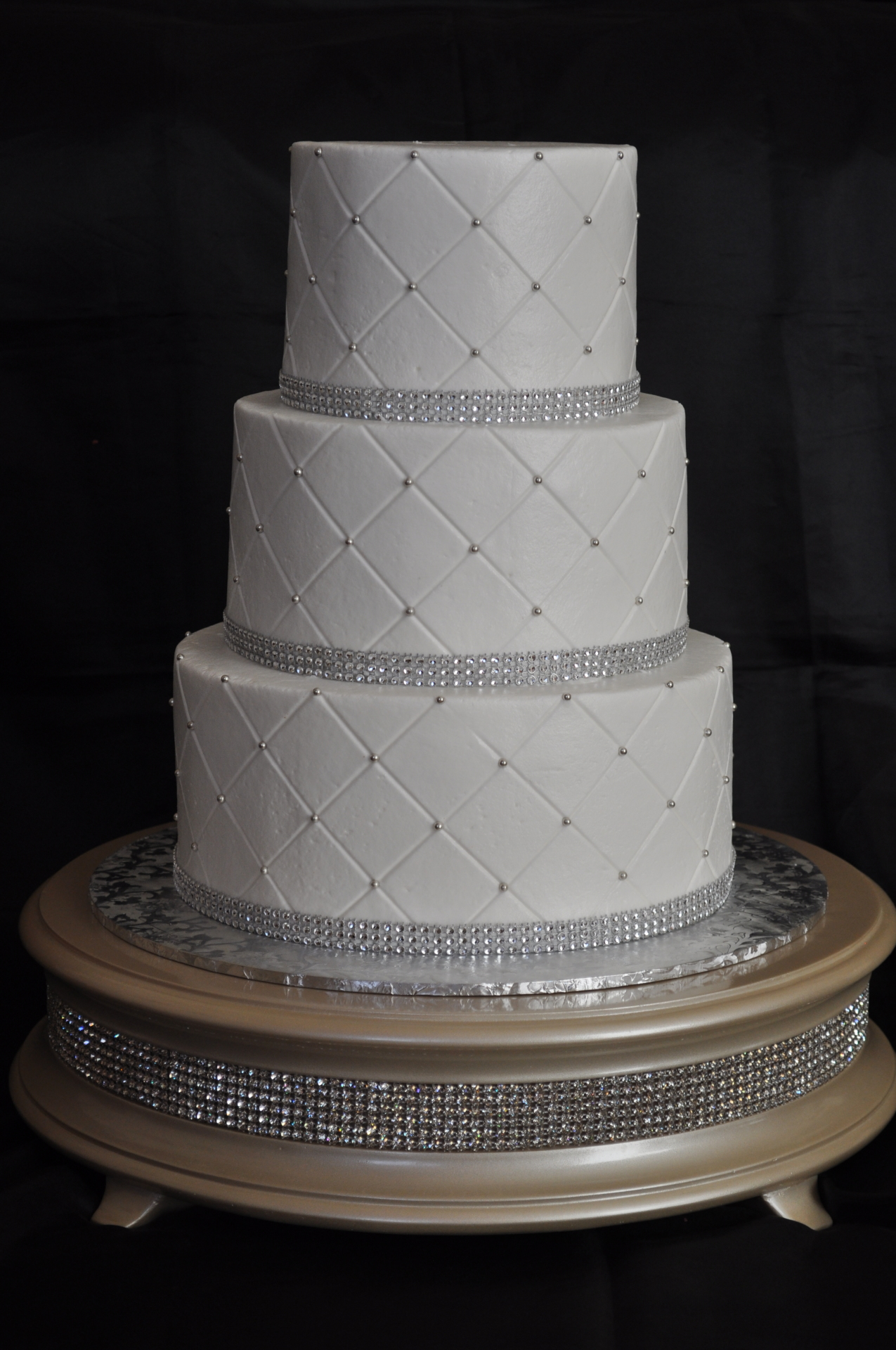 Simple quilted buttercream