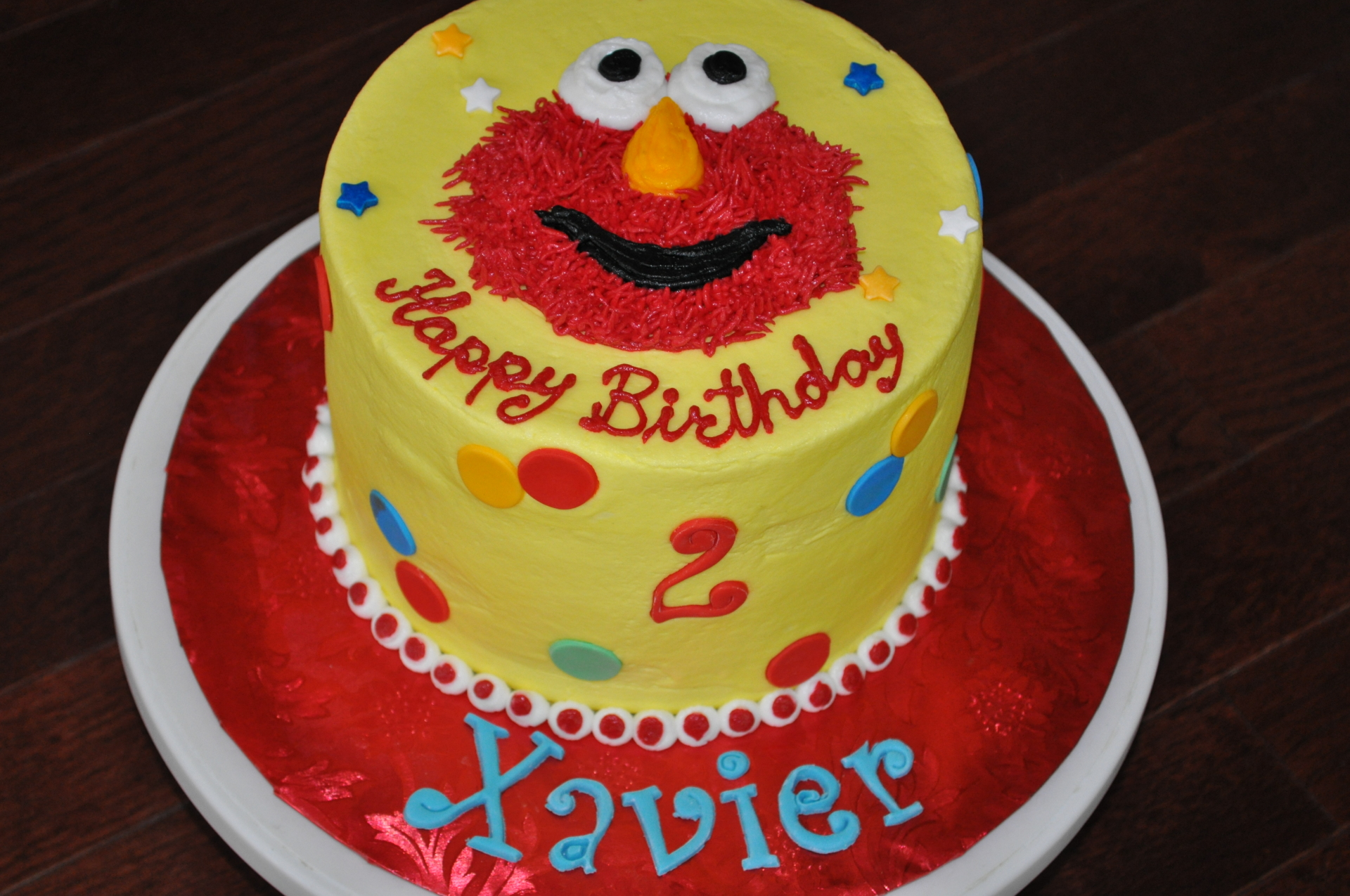 Elmo cake, Sesame Street cake