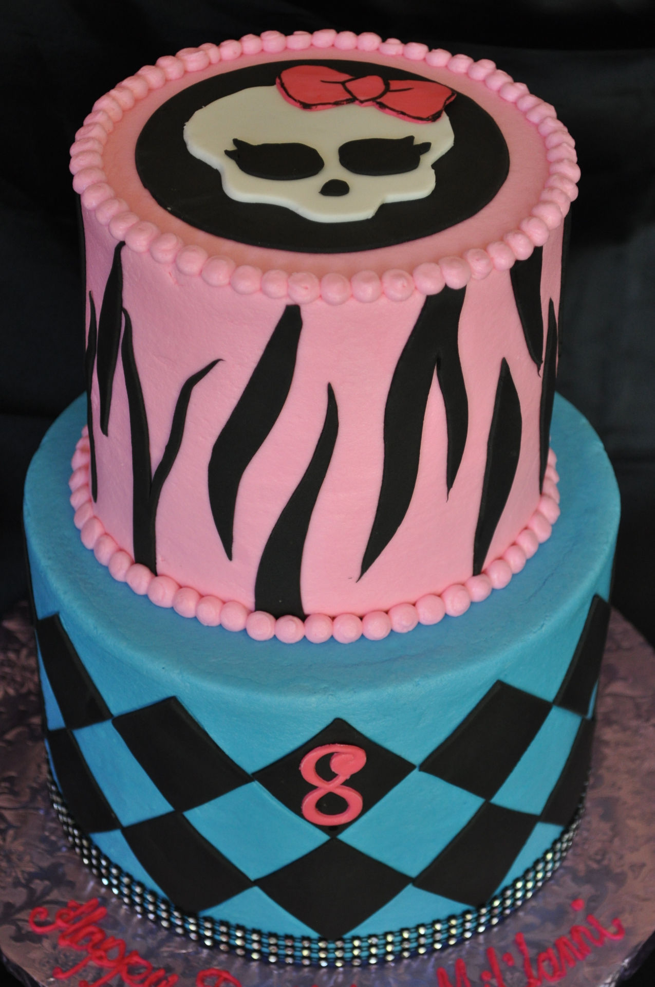 Monster high cake