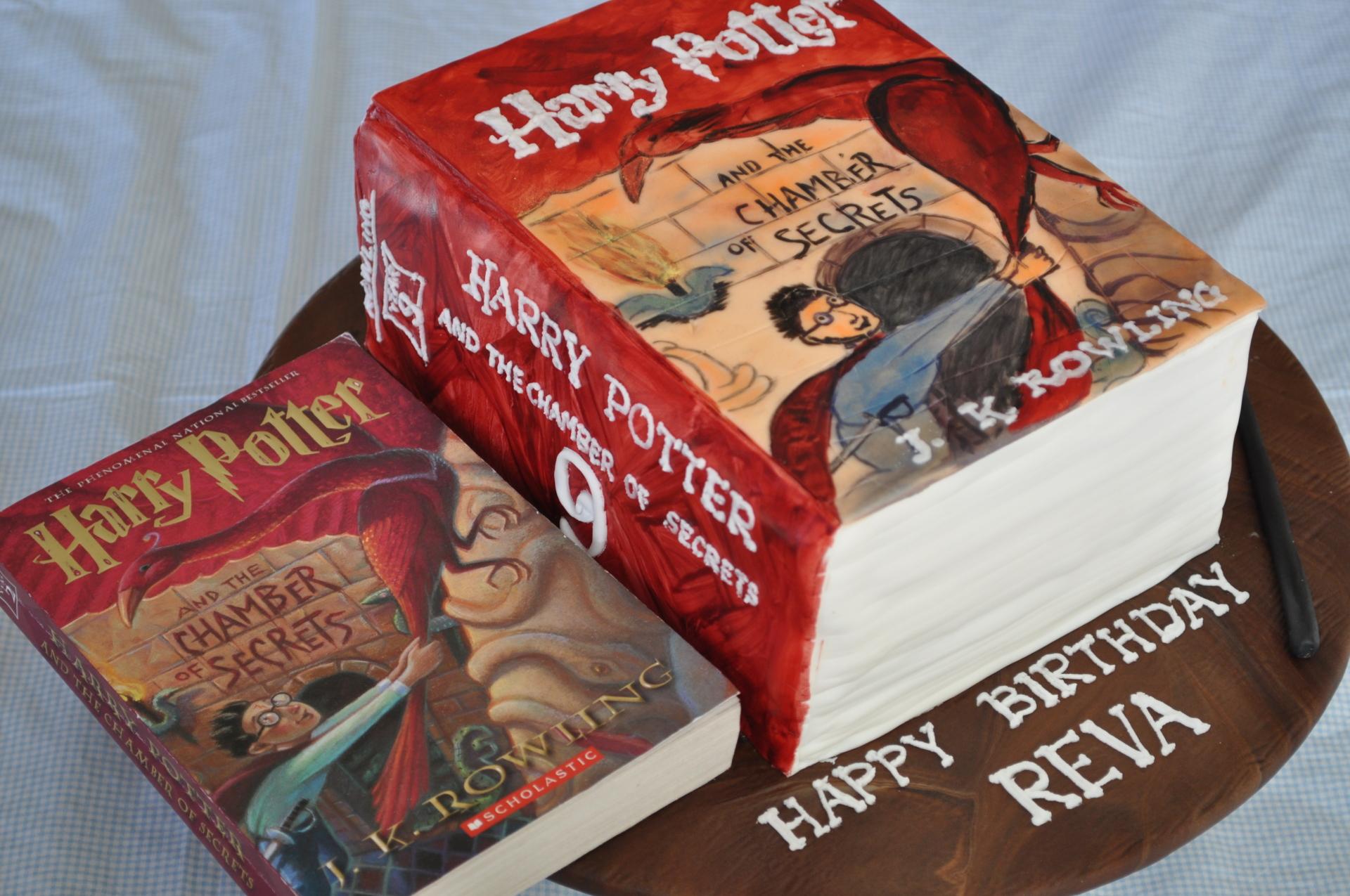 Harry Potter cake, HP cake, Book cake