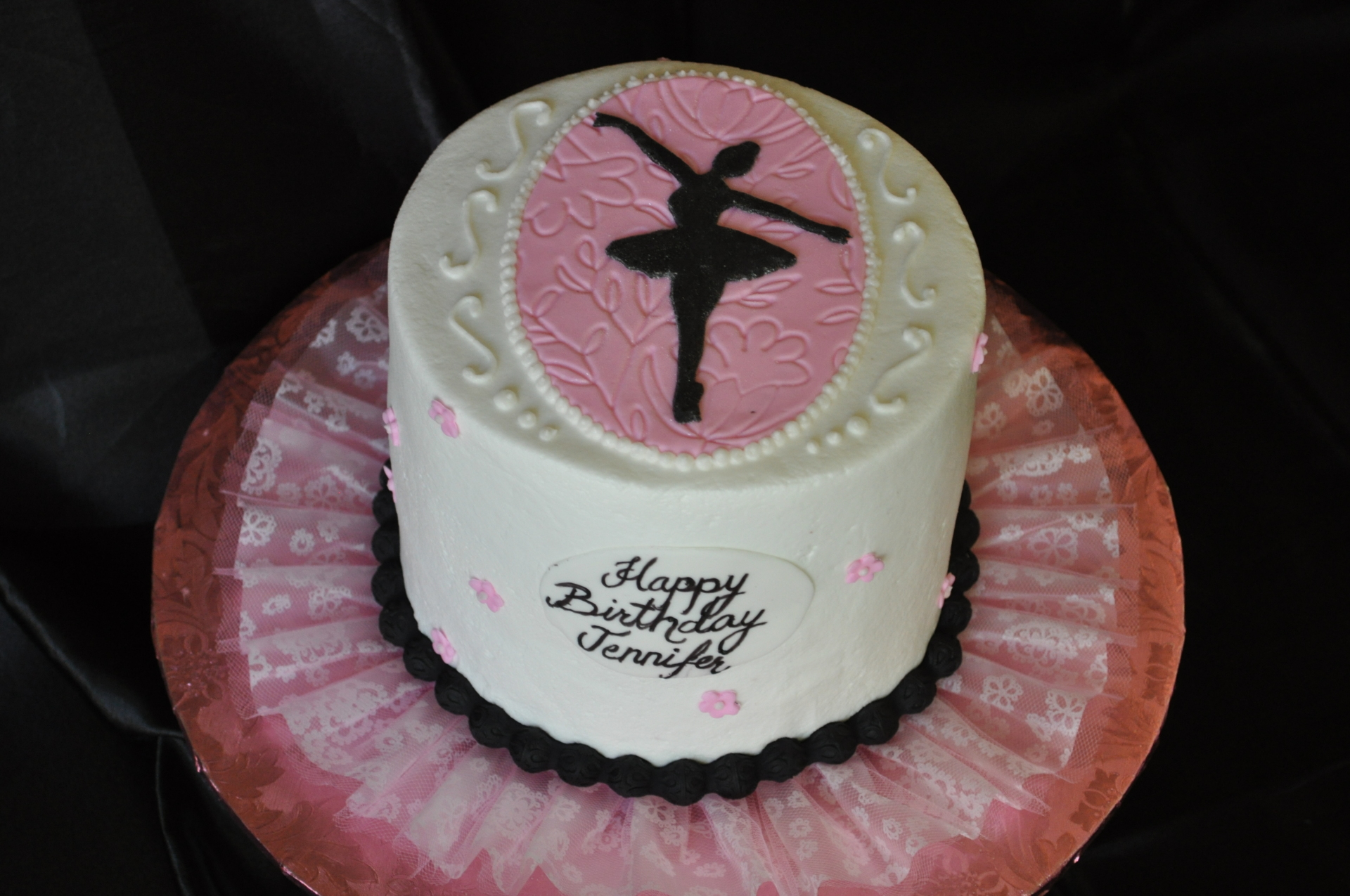 Ballerina ,Ballet cake