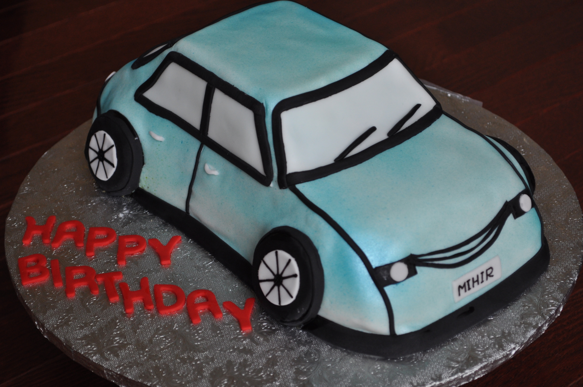 Car cake,Beetle car cake
