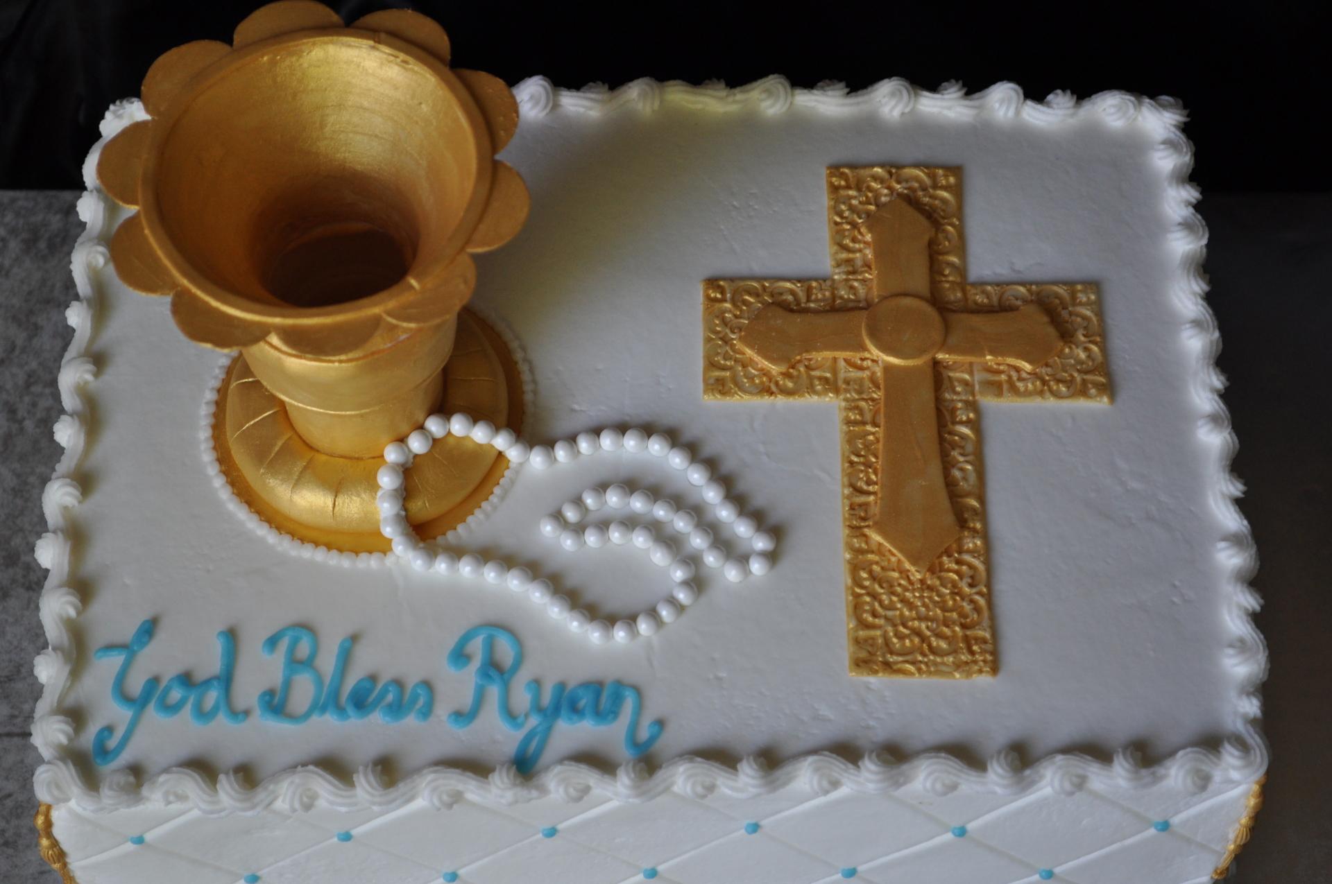 Christening cake, Baptism cake,cross cake,chalice cake