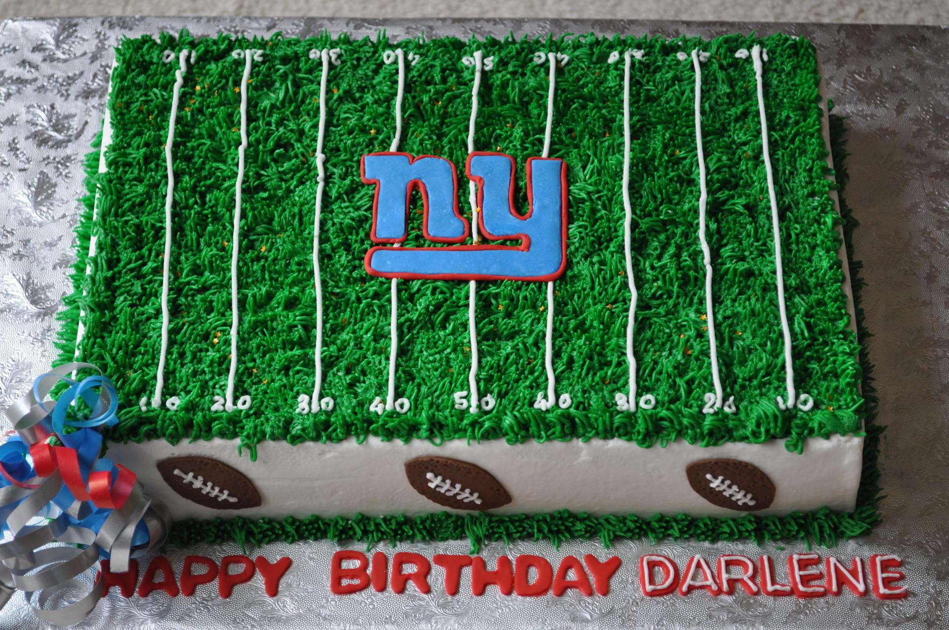Football cake, NY cake