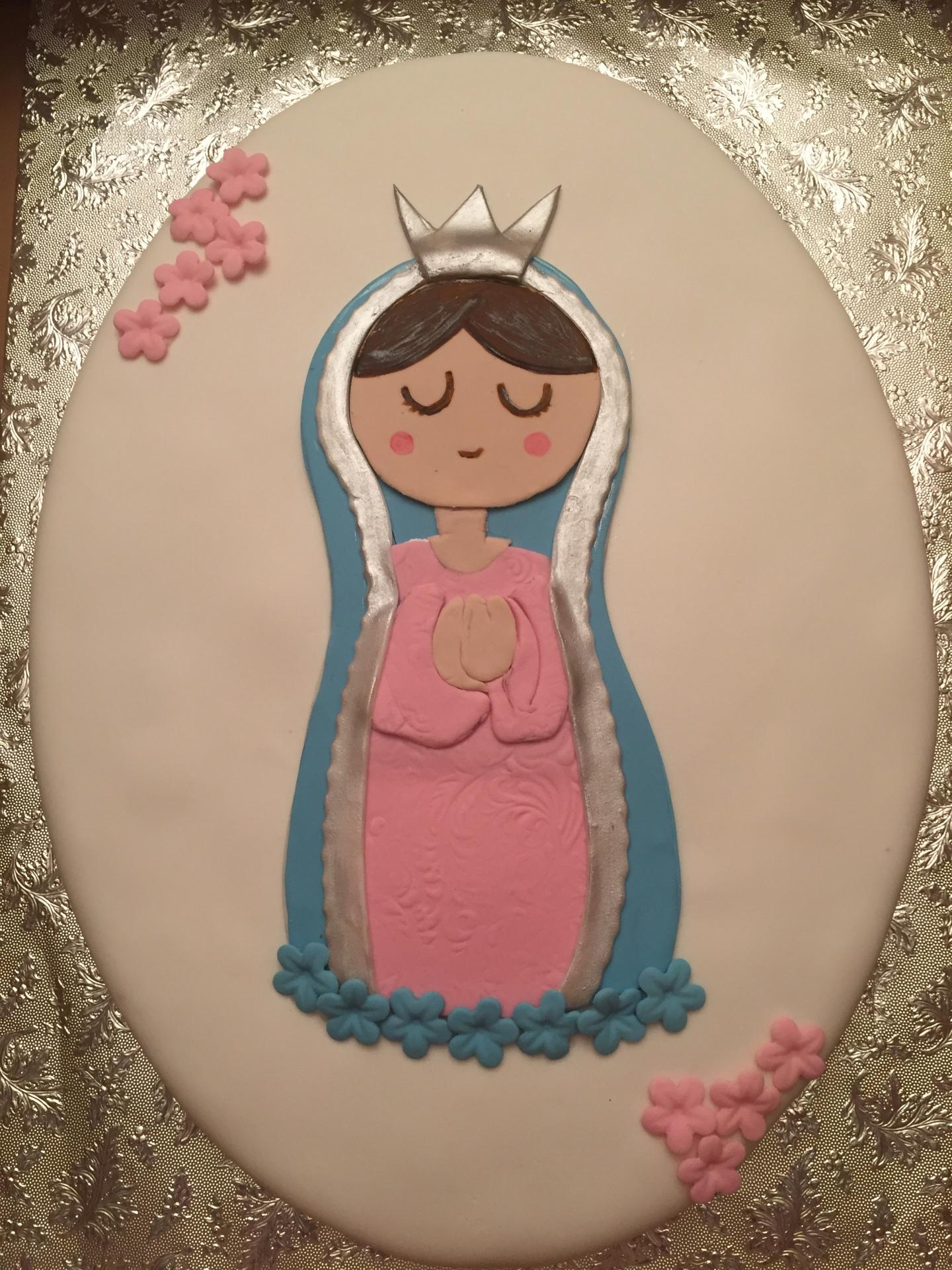Religious cake,Baptism cake