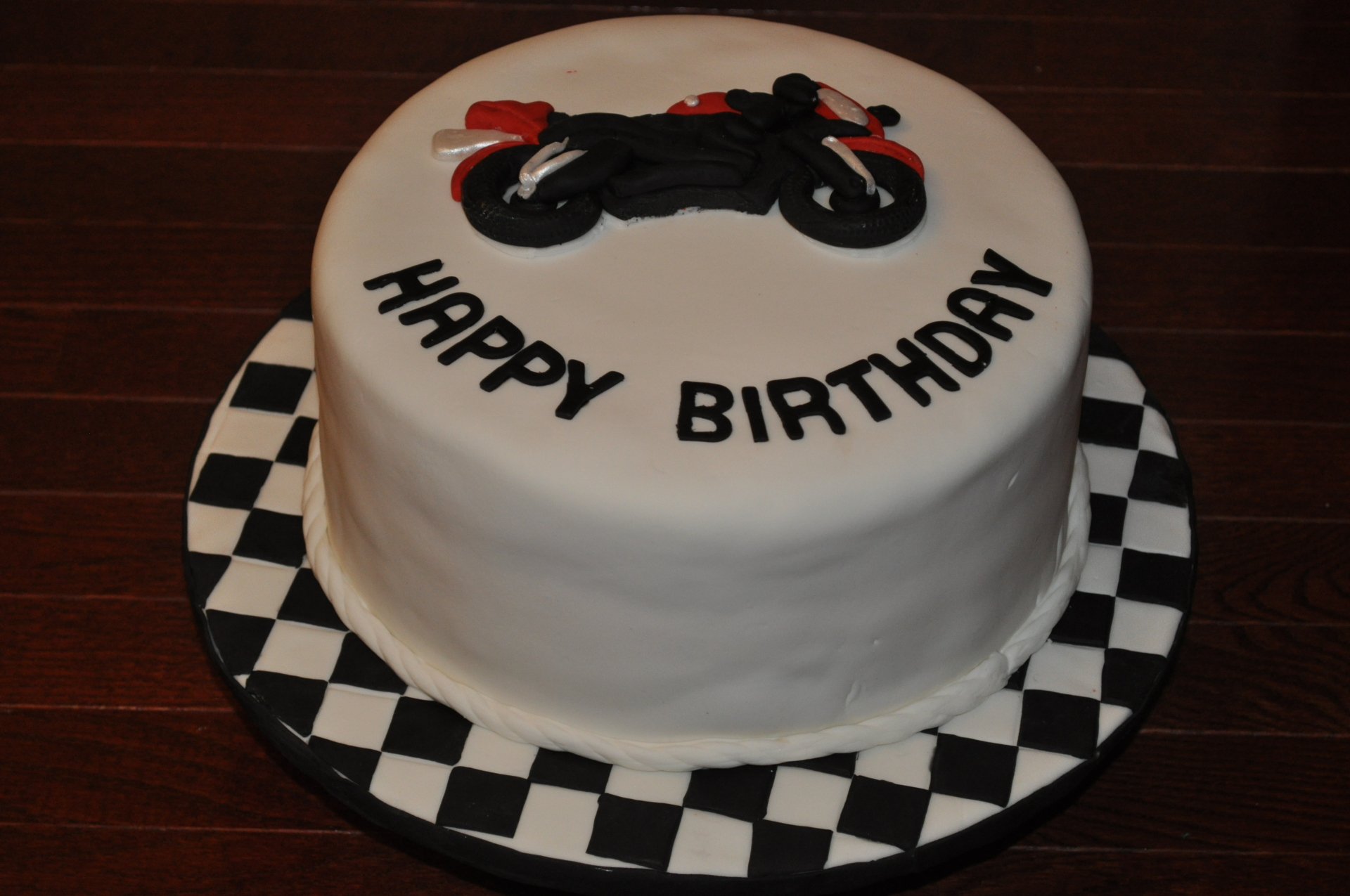 Bike cake,Motorcycle cake