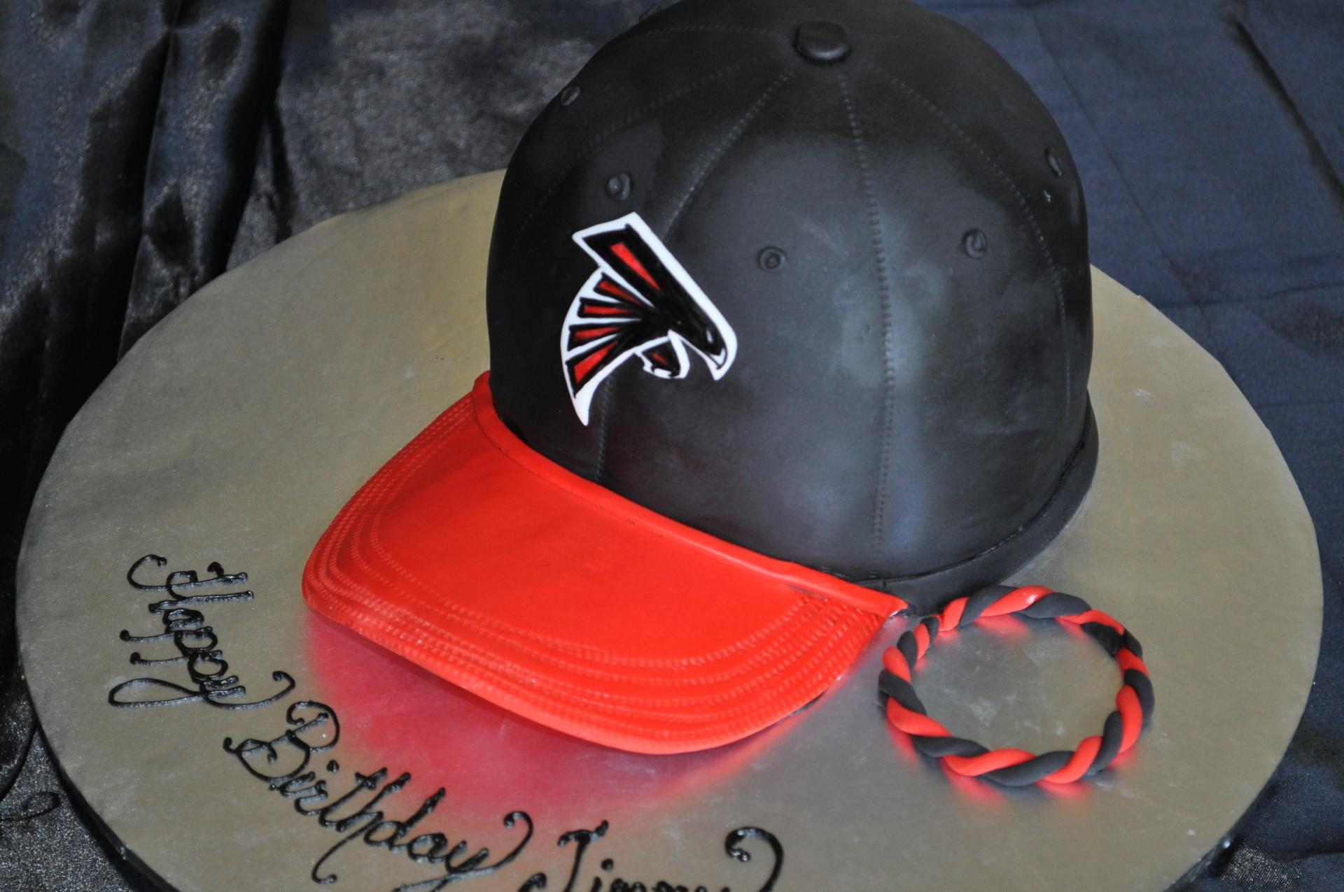 men's hat cake