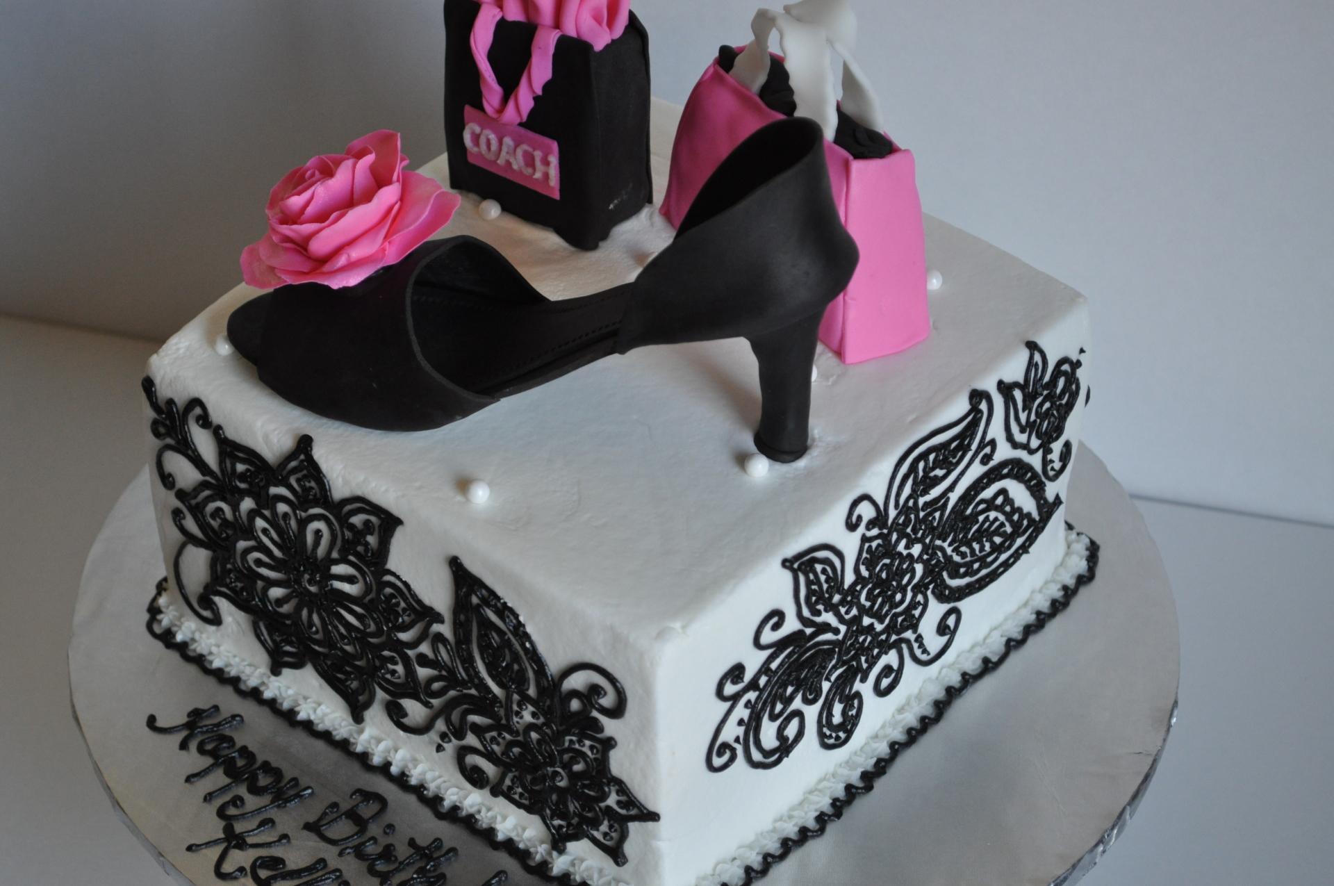 Heels and henna cake-1